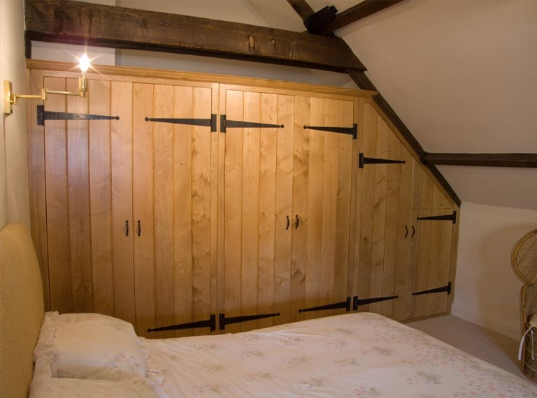Tongue Groove Solid Oak Wardrobes Ak House Ideas Pinterest very well in Solid Wood Built In Wardrobes (Image 17 of 20)