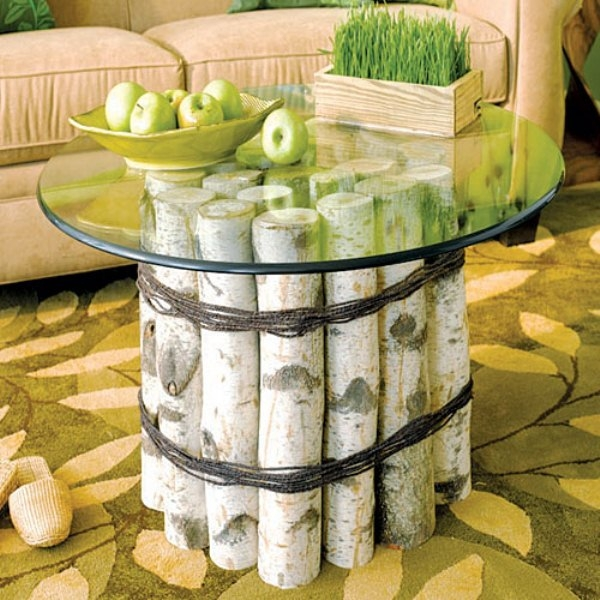 Top 10 Best Diy Bathroom Projects Rustic Coffee Tables Diy certainly pertaining to Birch Coffee Tables (Image 20 of 20)