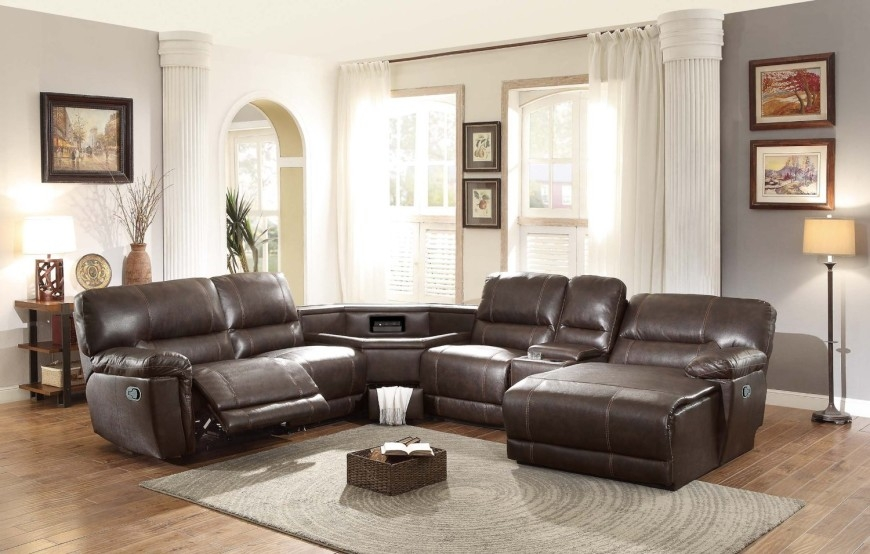 Top 10 Best Recliner Sofas 2017 Home Stratosphere good regarding 6 Piece Leather Sectional Sofa (Image 17 of 20)