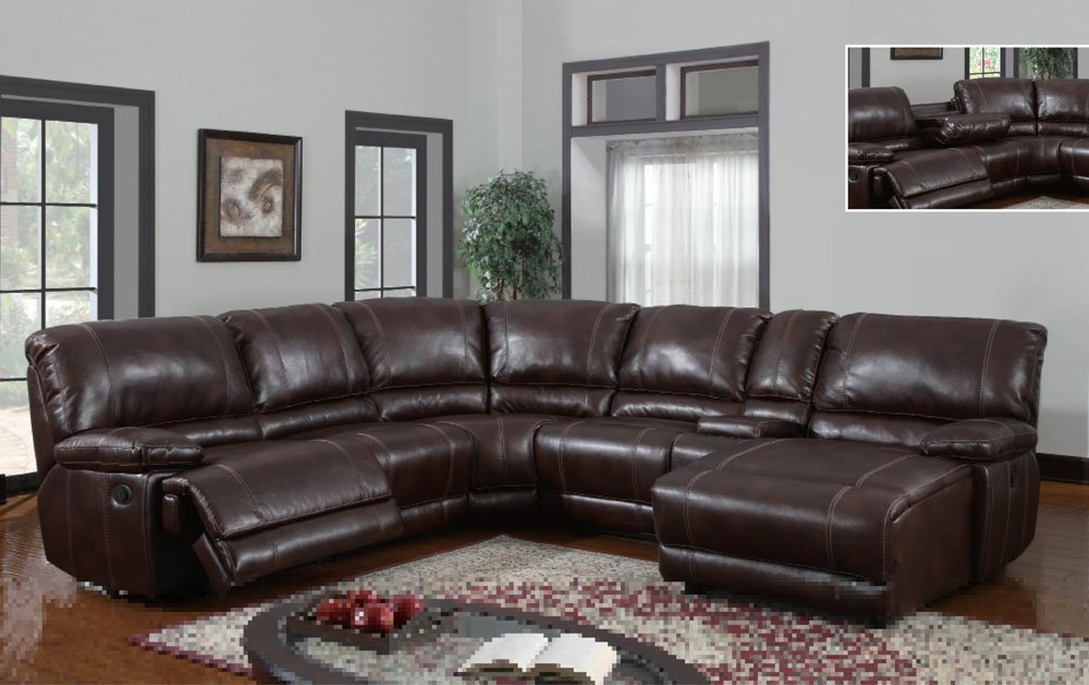 Top 10 Best Recliner Sofas 2017 Home Stratosphere nicely within 6 Piece Leather Sectional Sofa (Image 18 of 20)