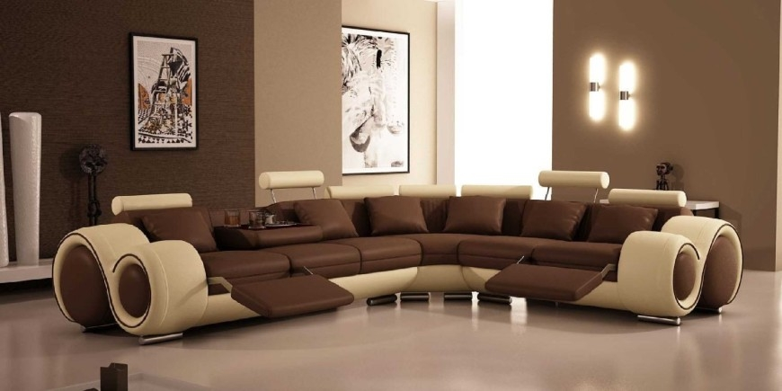 Top 10 Best Recliner Sofas 2017 Home Stratosphere Very Well Within Curved Sectional Sofa With Recliner (View 20 of 20)