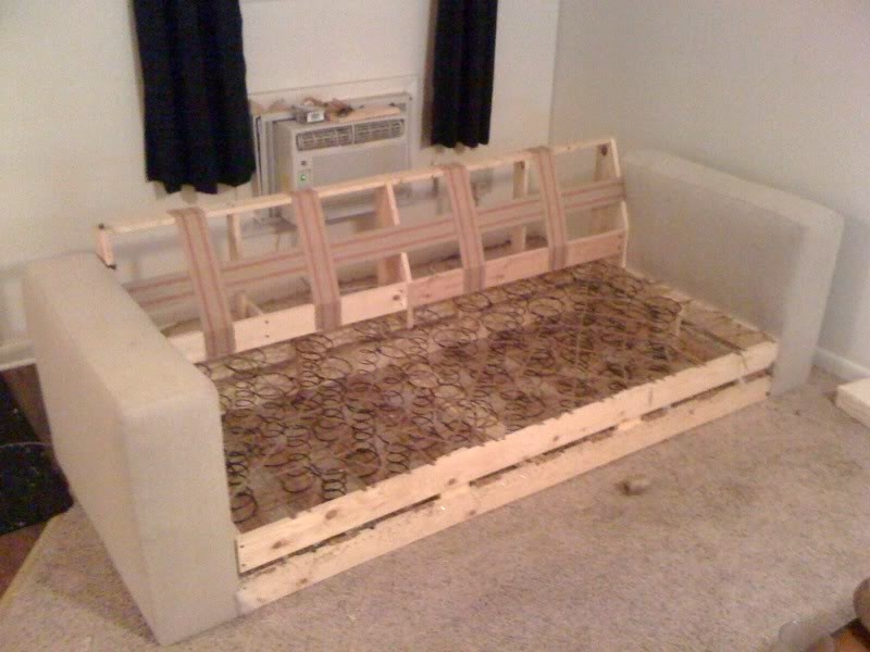 Top 25 Best Build A Couch Ideas On Pinterest Outdoor Furniture Clearly Regarding Diy Sofa Frame (Photo 19 of 20)