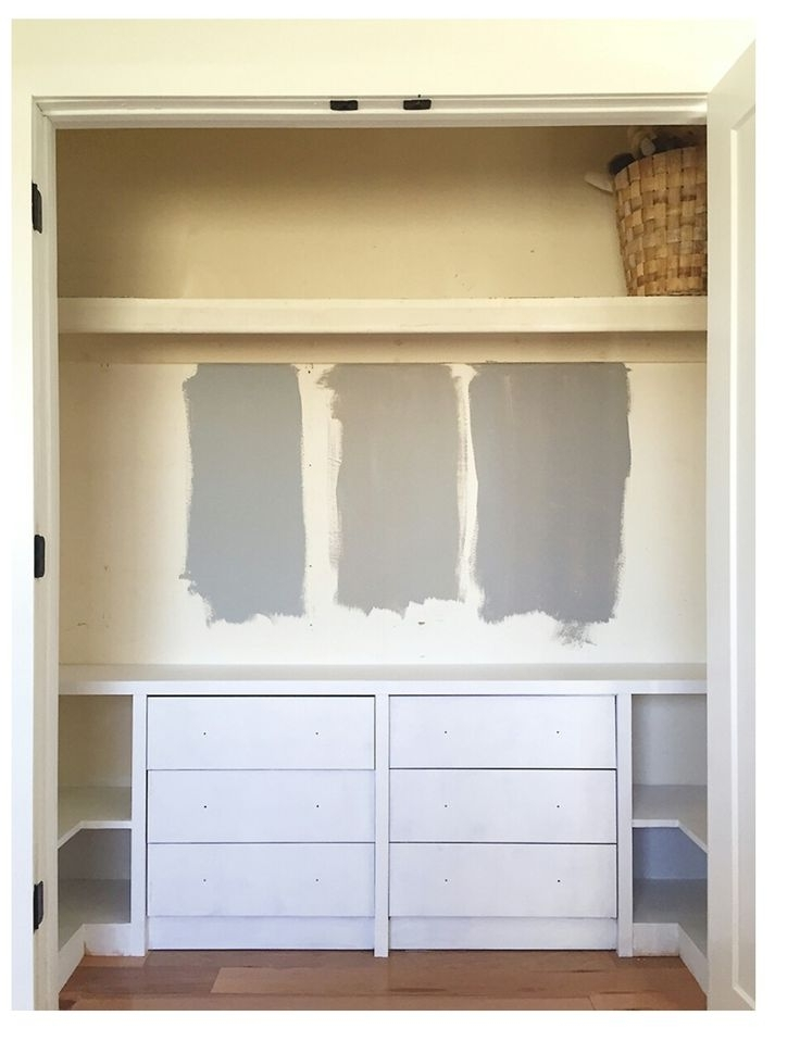 Top 25 Best Ikea Built In Ideas On Pinterest Ikea Closet Hack Well With  Regard To