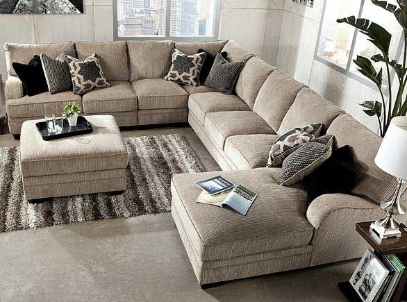 Top 25 Best Living Room Sectional Ideas On Pinterest Neutral properly in Living Room Sofas (Image 20 of 20)