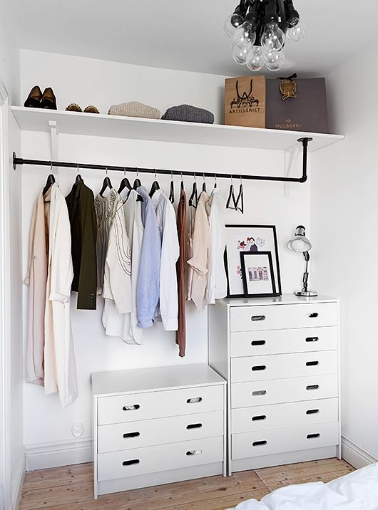 Top 25 Best Wardrobe Ideas Ideas On Pinterest Closet Wardrobes clearly intended for Tall Double Hanging Rail Wardrobes (Image 18 of 30)