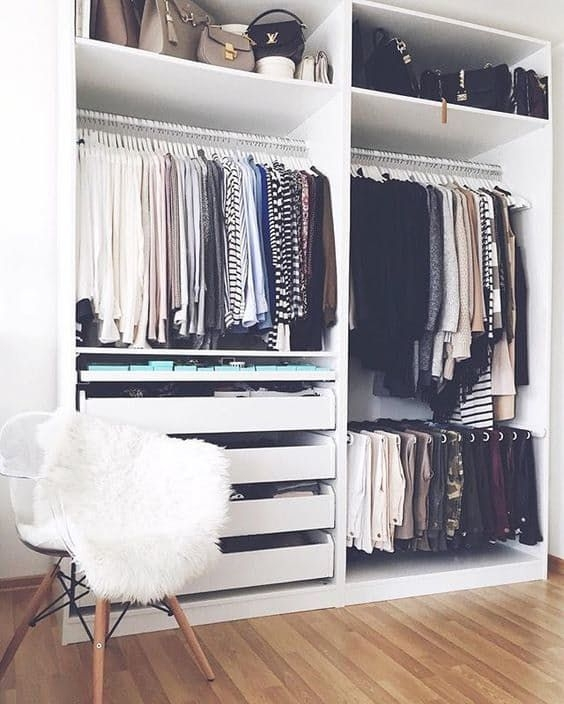 Top 25 Best Wardrobe Ideas Ideas On Pinterest Closet Wardrobes perfectly intended for Tall Double Hanging Rail Wardrobes (Image 22 of 30)