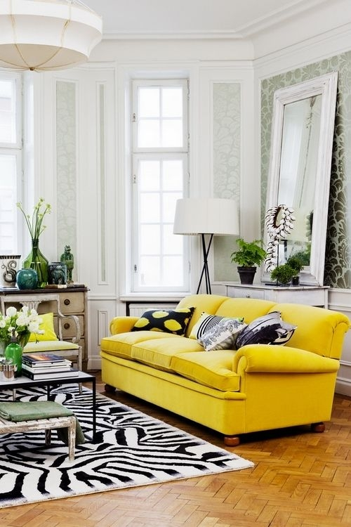 Top 25 Best Yellow Couch Ideas On Pinterest Gold Couch Mustard effectively with Yellow Sofa Chairs (Image 15 of 20)
