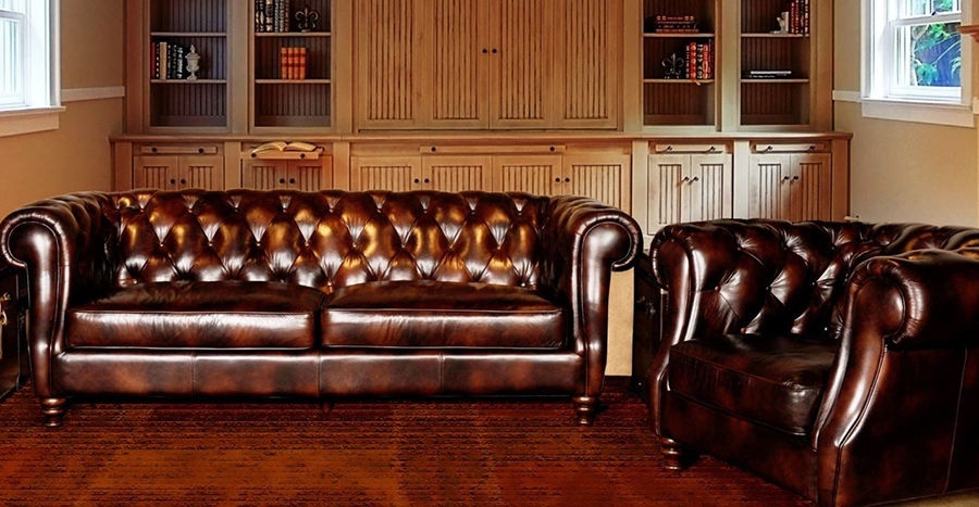 Top 3 Chesterfield Sofas Ebay definitely within Chesterfield Sofa and Chairs (Image 19 of 20)
