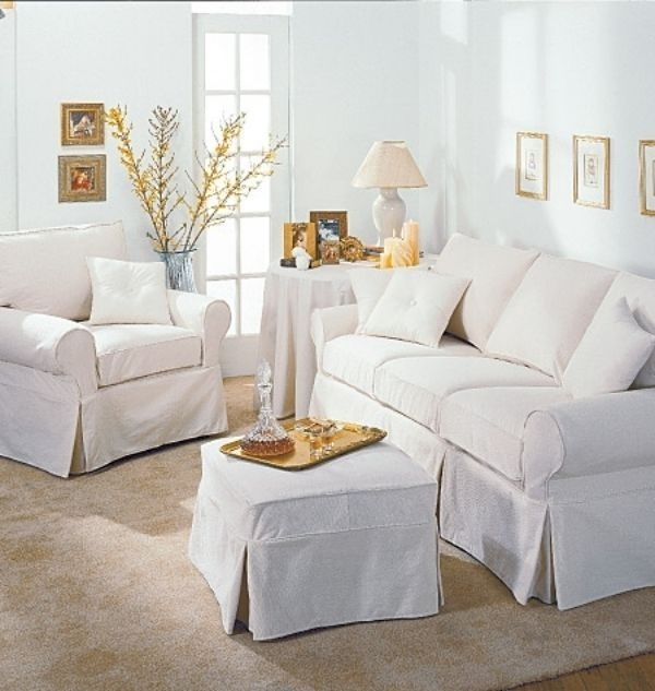 Top 5 Sofa Slipcover Patterns Ebay Good Throughout Slipcovers For Sofas And Chairs (View 20 of 20)