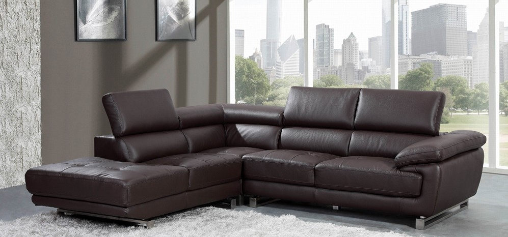 Top Leather Corner Sofa Corner Sofas U Shaped Sofas Modular Sofas clearly in Small Brown Leather Corner Sofas (Image 16 of 20)