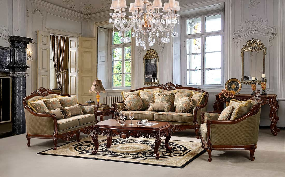 Traditional Sofas Loveseats Chairs Sets Sectionals clearly within Traditional Fabric Sofas (Image 19 of 20)