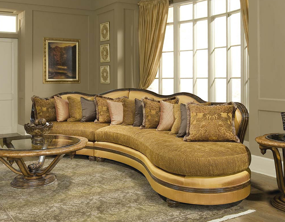 Traditional Sofas Loveseats Chairs Sets Sectionals Perfectly Intended For Expensive Sectional Sofas (View 20 of 20)