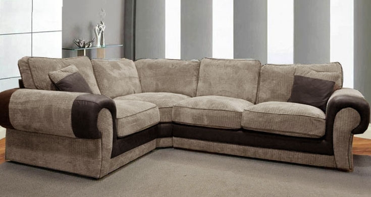 Trendy Comfortable Corner Sofas For Small Family Designinyou certainly with Small Brown Leather Corner Sofas (Image 20 of 20)