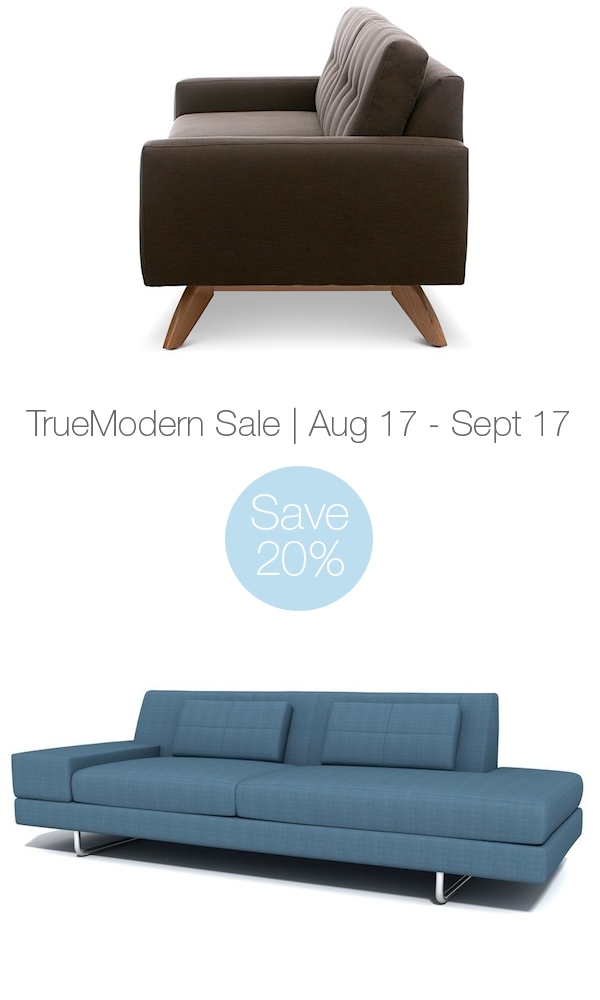 Truemodern Sale Save 20 On Modern Sofas Sectionals most certainly for Modern Sofas Sectionals (Image 18 of 20)