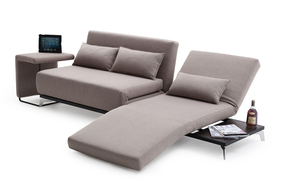 Truly Functional Fabric Convertible Pull Out Sofa Bed With Lounge very well in Pull Out Sofa Chairs (Image 20 of 20)