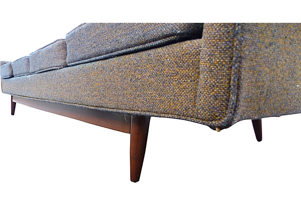 Tweed Fabric Sofa Thesofa effectively with Tweed Fabric Sofas (Image 20 of 20)