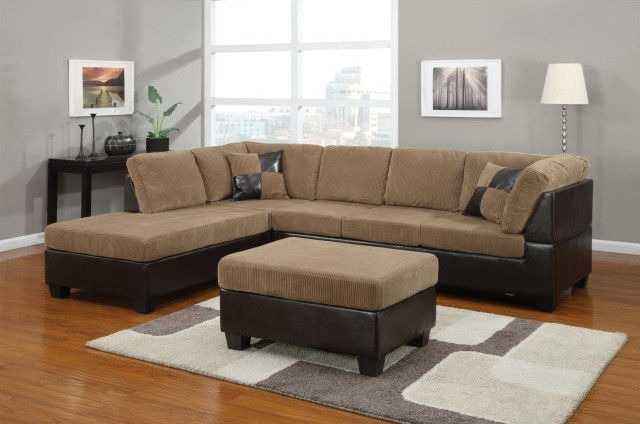 Ukuscanada L Shape Sofas In Dark Greysofa Set With Tablefabric Certainly With L Shaped Fabric Sofas (View 19 of 20)