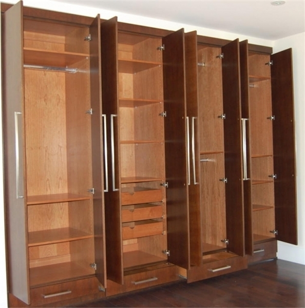 Uncategorized Solid Wood Armoire Wardrobe Design Fitted definitely with Solid Wood Fitted Wardrobe Doors (Image 18 of 30)
