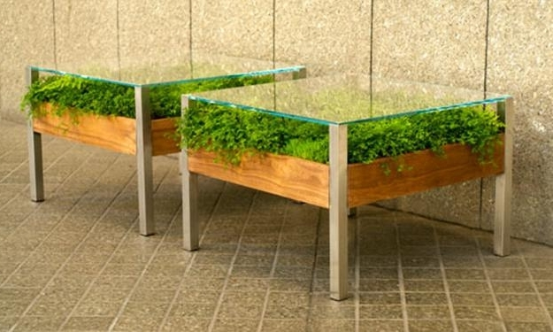 Unusual Glass Top Coffee Table Design In Eco Style most certainly pertaining to Unusual Glass Top Coffee Tables (Image 2 of 30)