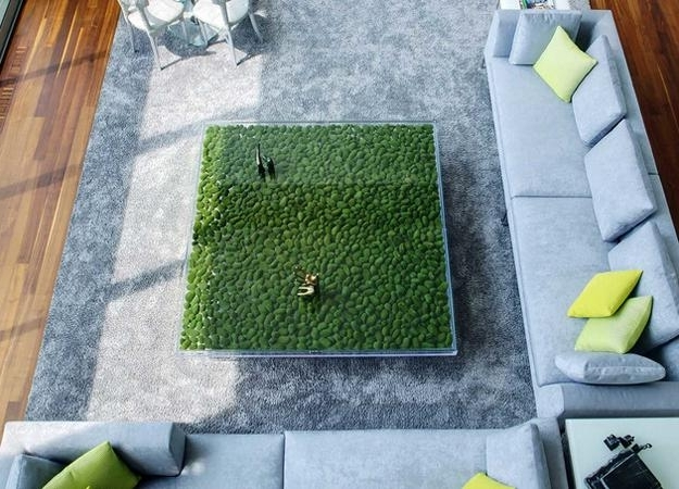 Unusual Glass Top Coffee Table Design In Eco Style well in Unusual Glass Coffee Tables (Image 27 of 30)