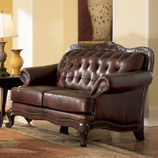 Victoria Leather Sofa Set Sofa Sets perfectly for Victorian Leather Sofas (Image 14 of 20)