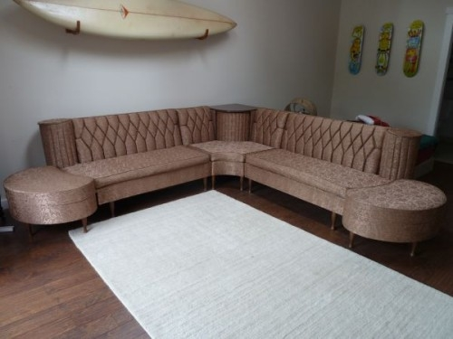 Vintage Newport Chesterfield Sectional Sofa With Hideaway certainly throughout Newport Sofas (Image 18 of 20)