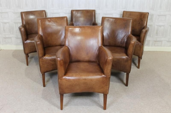 Vintage Style Leather Armchair Tan Leather Club Chair Large Leather good within Vintage Leather Armchairs (Image 18 of 20)