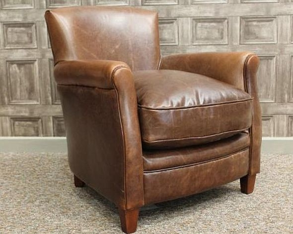 Vintage Style Leather Armchair With New Ideas Brown Leather Armchair definitely for Vintage Leather Armchairs (Image 19 of 20)