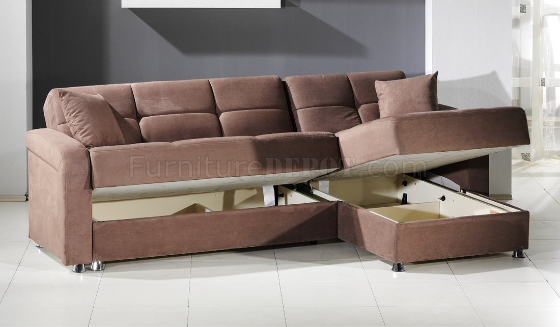 Vision Sec Rainbow Sectional Sofa Bed Storage In Truffle Sunset Well In Sectional Sofa Beds (View 19 of 20)