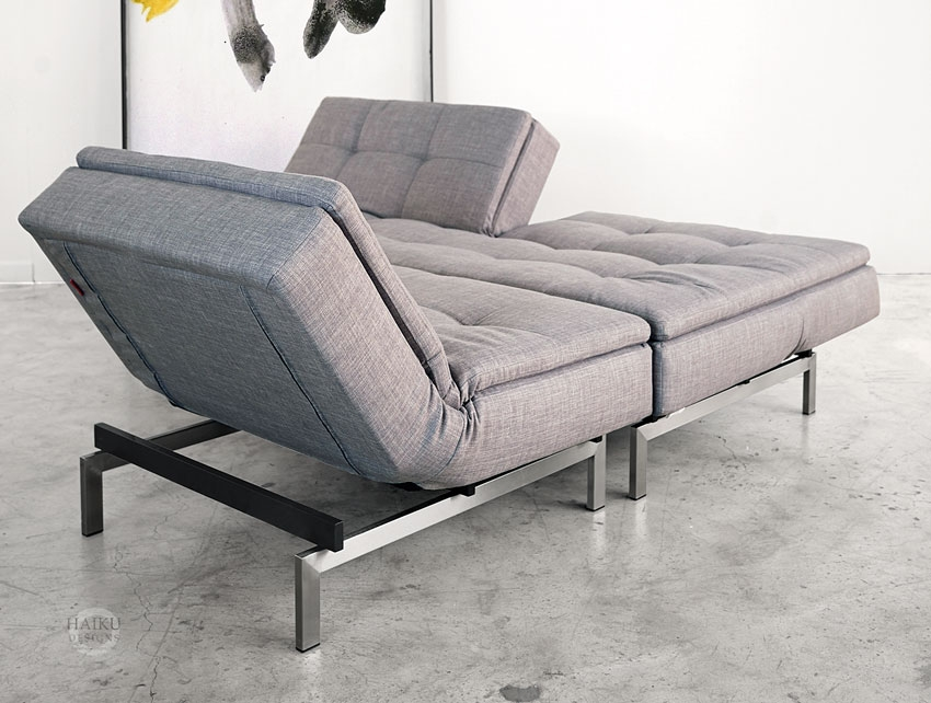 Vogue Convertible Sofabed And Lounge Chair Haiku Designs properly intended for Sofa Lounger Beds (Image 20 of 20)