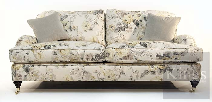 Wade Upholstery Floyd Large And Small Sofas Sold Good Pertaining To Classic English  Sofas (Photo