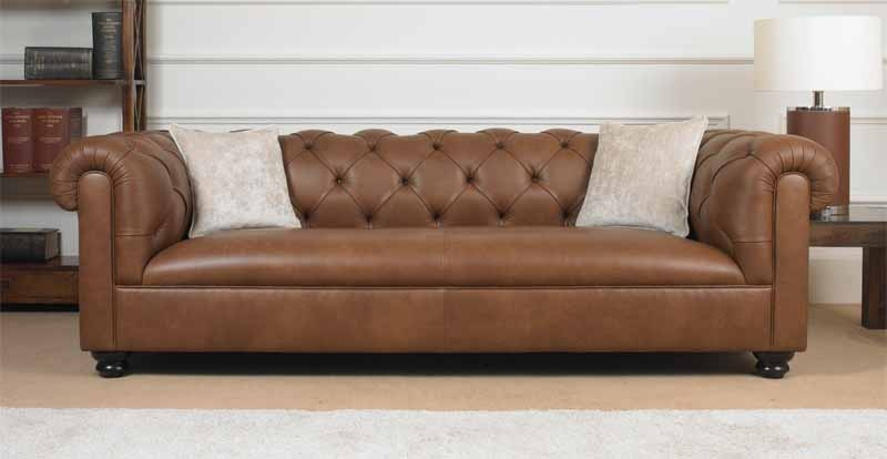 Wade Upholstery Hastings Small Sofa most certainly within Small Chesterfield Sofas (Image 19 of 20)
