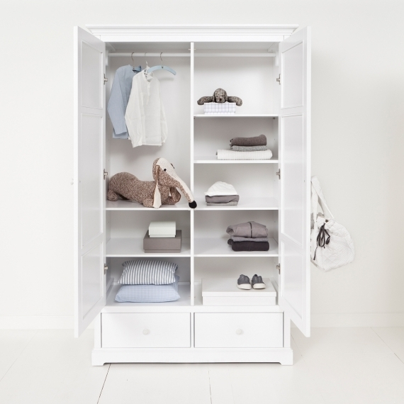 Wardrobe 2 Doors Oliver Furniture certainly intended for 2 Door Wardrobe With Drawers and Shelves (Image 26 of 30)