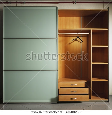 Wardrobe Furniture Stock Images Royalty Free Images Vectors perfectly with Single Wardrobe With Drawers and Shelves (Image 20 of 20)