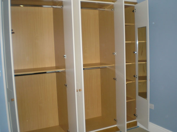 Wardrobe Interiors Bespoke Bedroom Furnitue clearly for Double Rail Wardrobes (Image 4 of 20)