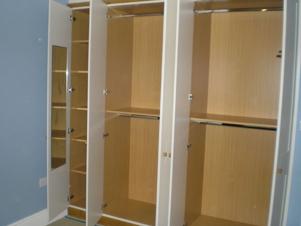 Wardrobe Interiors Bespoke Bedroom Furnitue nicely intended for Large Double Rail Wardrobes (Image 4 of 30)