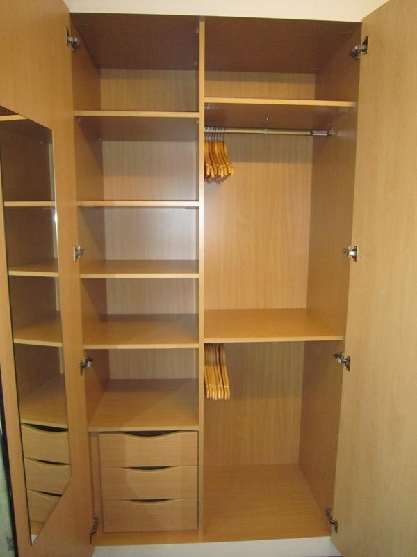 Wardrobe Interiors Bespoke Bedroom Furnitue very well pertaining to Double Wardrobe With Drawers And Shelves (Image 15 of 30)
