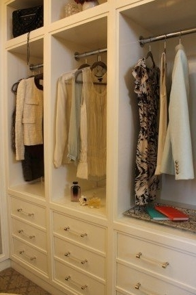 Wardrobe With Hanging Rod Foter perfectly in Wardrobe With Shelves and Drawers (Image 21 of 30)