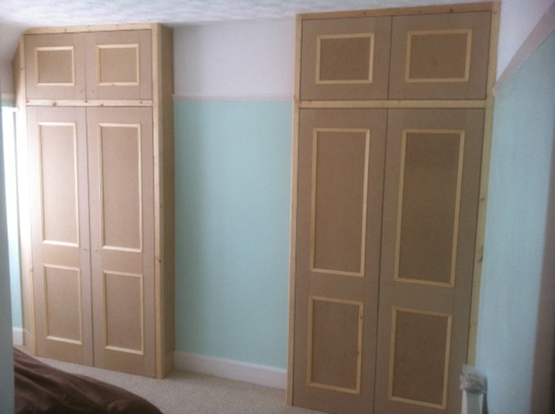 Wardrobes Cupboards James Houseman perfectly throughout Fitted Wooden Wardrobes (Image 23 of 30)