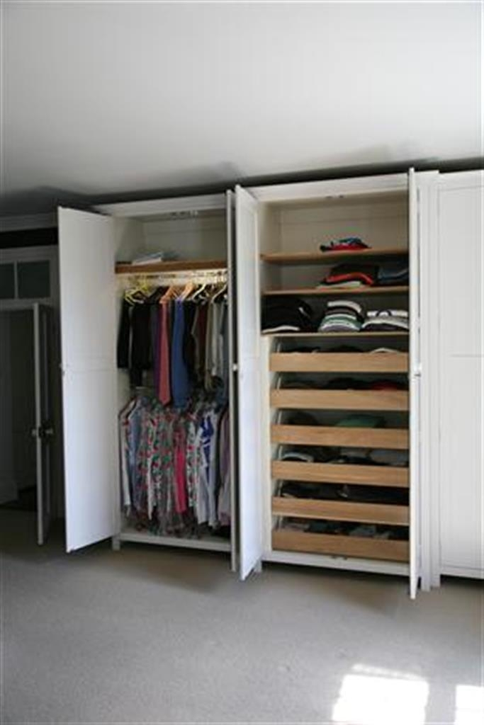 Wardrobes effectively inside Double Hanging Rail For Wardrobe (Image 10 of 30)