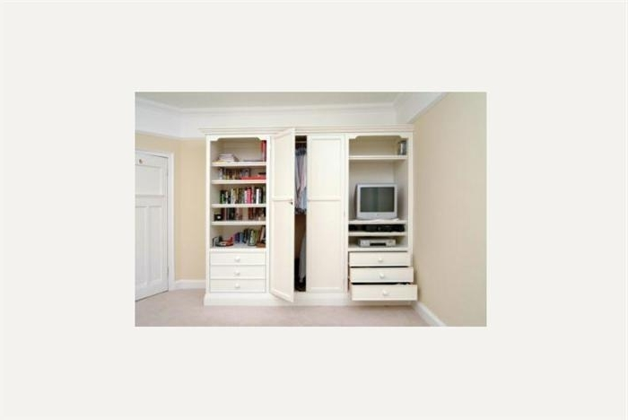 Wardrobes most certainly with regard to Wardrobe With Shelves And Drawers (Image 19 of 30)