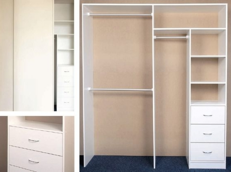 Wardrobes With Shelves And Drawers Fully Assembled Brand New 3 most certainly in 3 Door Wardrobe With Drawers And Shelves (Image 27 of 30)