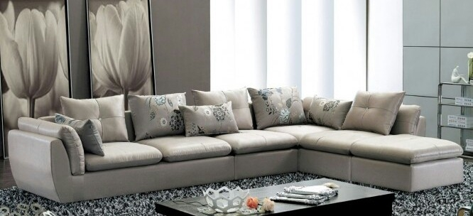 Wayne 7 Seater Leather Sectional Sofa nicely throughout 7 Seat Sectional Sofa (Image 20 of 20)