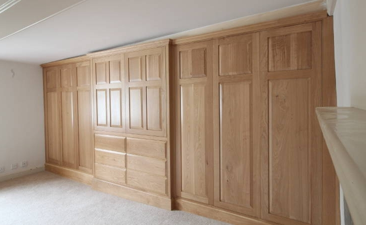 Welcome The Fitted Furniture Company Norwich good intended for Solid Wood Fitted Wardrobes (Image 2 of 30)