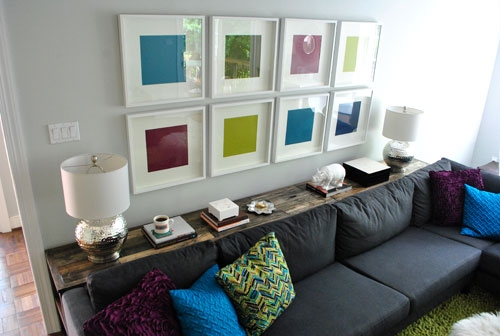 What To Put On A Console Table Behind A Couch Young House Love Certainly Inside Sofas With Consoles (View 19 of 20)