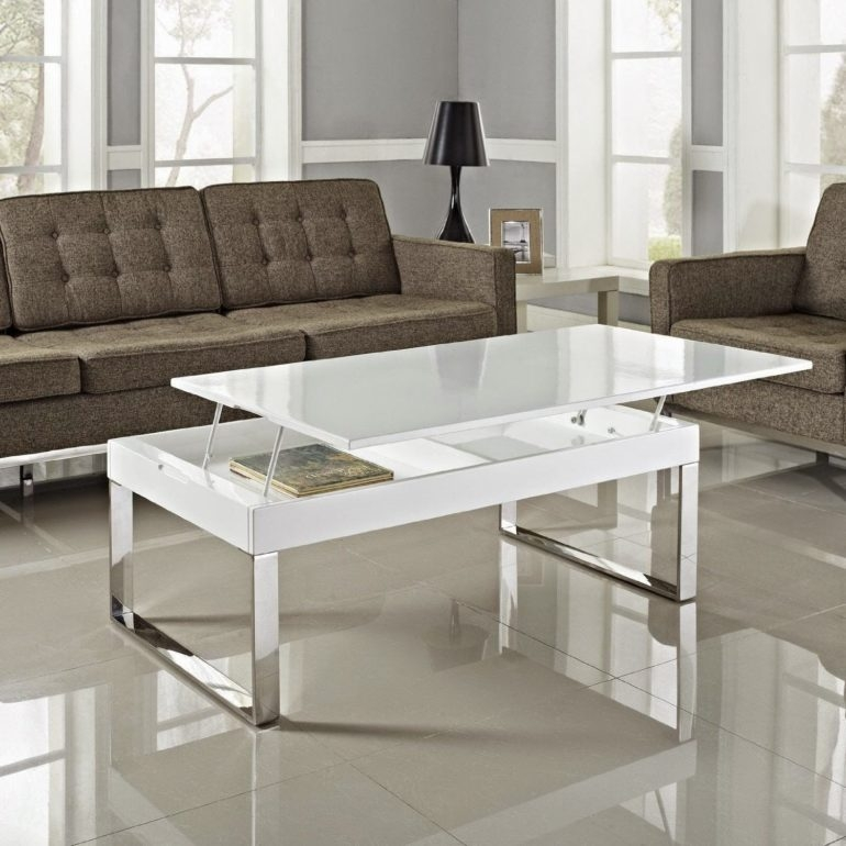 2019 Popular Glass Lift Top Coffee Tables
