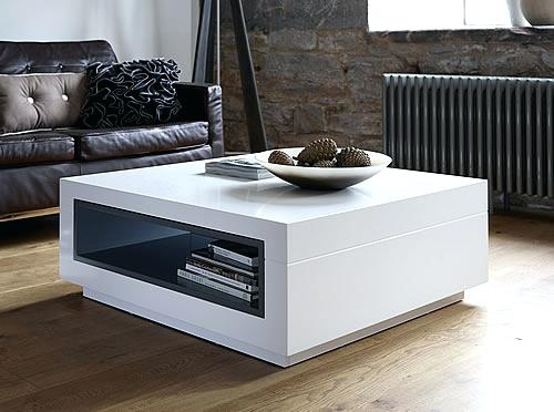 White Storage Coffee Table Dealhackrco nicely regarding White Coffee Tables With Storage (Image 16 of 20)