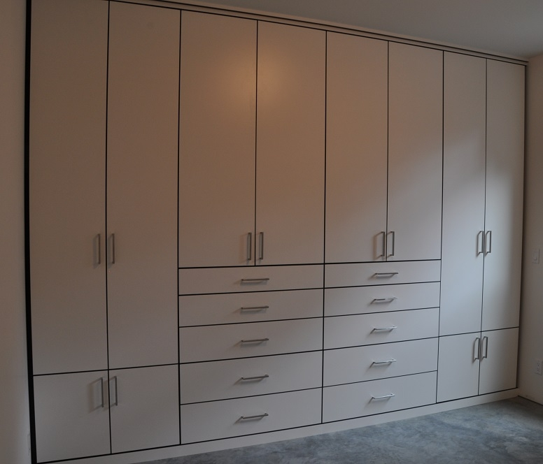 White Wall Wardrobe Designs For Bedroom Wall Units Design Ideas perfectly in Wall Wardrobes (Image 18 of 20)