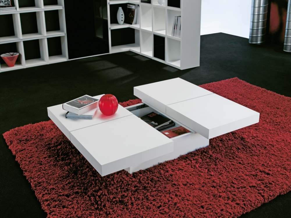 Wide Designs Of White Coffee Table With Storage Homesfeed most certainly within White Coffee Tables With Storage (Image 19 of 20)