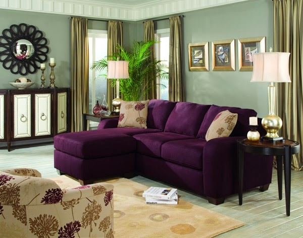 Will I Regret Buying A Purple Sofa This Fairy Tale Life good throughout Eggplant Sectional Sofa (Image 19 of 20)